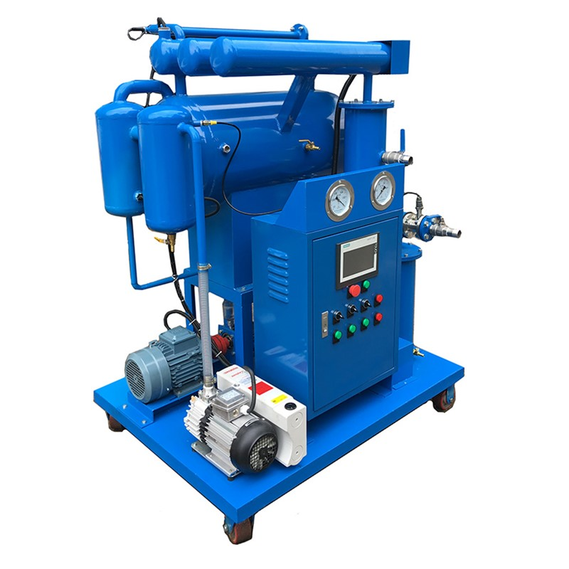 ZY Series Single Stage Vacuum Insulating Oil Transformer Oil Purifier