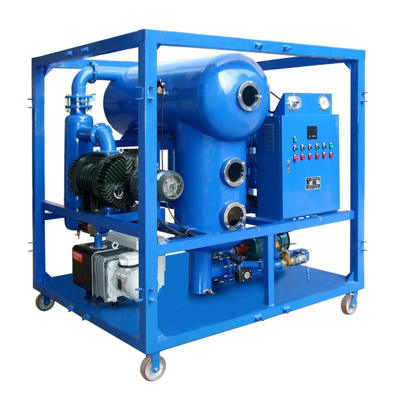 ZYB Series Single Stage Vacuum Insulating Oil Transformer Oil Regeneration System