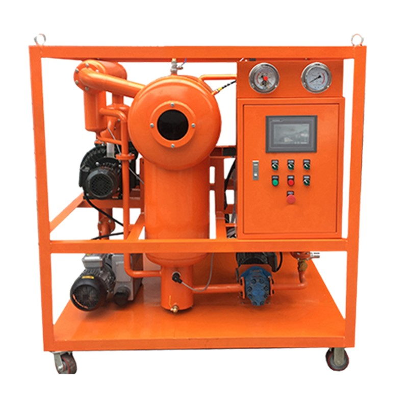ZYD-R Series Double Stage High Vacuum Insulating Oil Transformer Oil Regeneration System