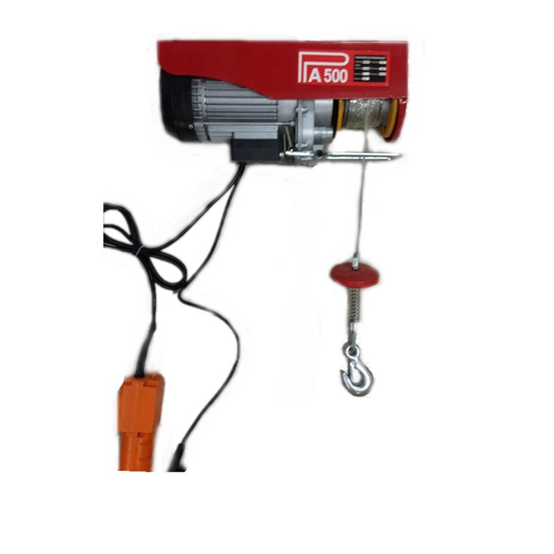 PA Series Mini Electric Hoist with Trolley  Electric Hoist with Trolley mounted on I-beam